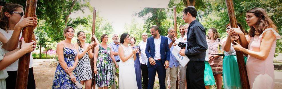 החתונה של חגי ומאיה. צלם: רונן בוינק
