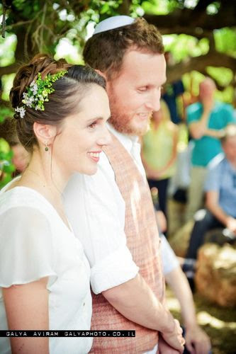 החתונה של רוני ואסף. צילום: גליה אבירם
